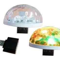 20 MINI LED USB/CON PILA
